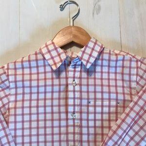 LL Bean collared shirt